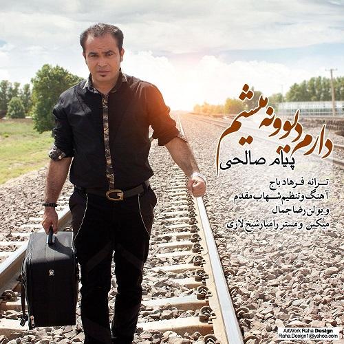 پیام صالحی آهنگ دارم دیوونه میشم