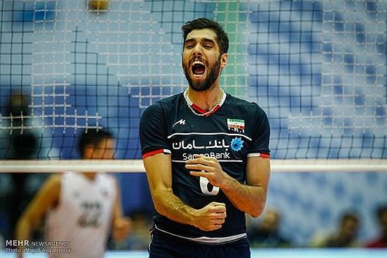 پس از دومین برد تیم والیبال ایران مقابل آمریکا