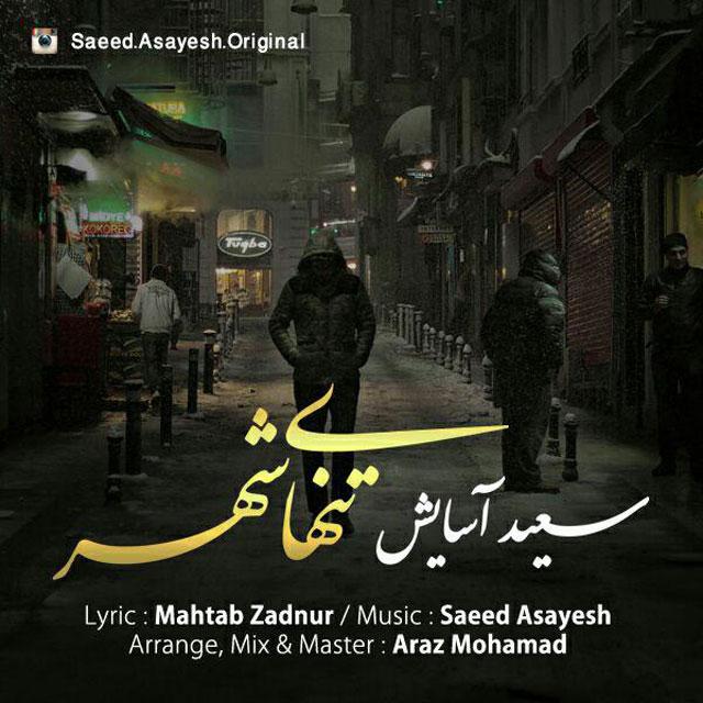 دانلود آهنگ جدید سعید آسایش به نام تنهای شهر