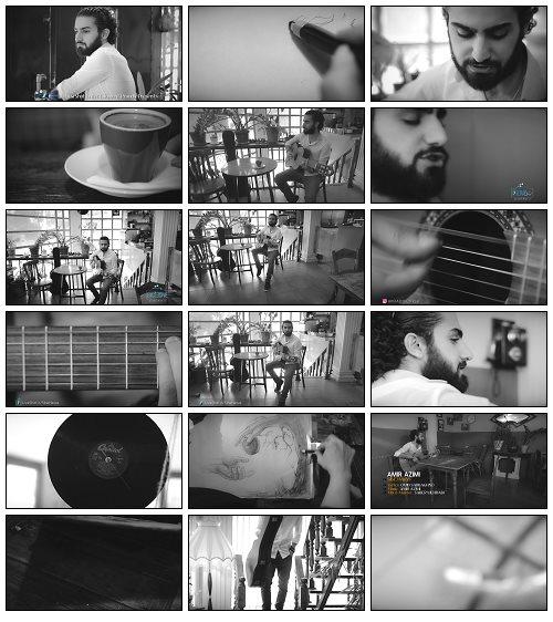 دانلود موزیک ویدئو جدید امیر عظیمی به نام سیب هوس