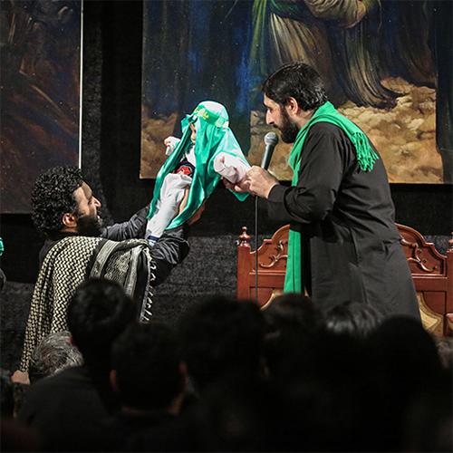 دانلود نوحه های حاج سید مجید بنی فاطمه شب هفتم محرم ۹۵